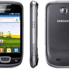 Vand Samsung Galaxy Mini - Telefon mobil Samsung Galaxy Mini, Negru, Orange
