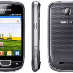 Vand Samsung Galaxy Mini - Telefon mobil Samsung Galaxy Mini, Negru, Orange