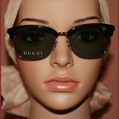 Ochelari de soare, originali, GUCCI, 100euro - Ochelari de soare Gucci, Femei, Protectie UV 100%