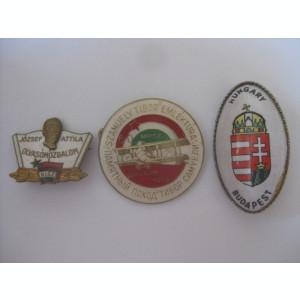 REDUCERE 30 LEI! 3 INSIGNE COLECTIE UNGARIA