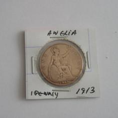 MS - ANGLIA - ONE PENNY - 1913