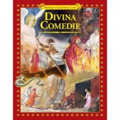 Divina Comedie (dupa Dante) Bibl. Adevarul 2011 Noua ilustratii color - Carte educativa