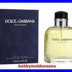 PARFUM BARBATESC DOLCE&GABBANA POUR HOMME 125ML - Parfum barbati Dolce & Gabbana, Apa de toaleta