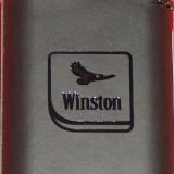 Brichetă Winston, in piele, nouă - Bricheta Zippo Alta, Tip: De buzunar