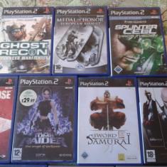 Vand 10 Jocuri PS2 Altele la pachet, pt copii, playstation 2, ca noi, Actiune, Toate varstele, Multiplayer