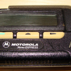 PAGER MOTOROLA ( Memo Express ) - FUNCTIONAL - Telefon Motorola, Negru, Nu se aplica, Neblocat, Fara procesor