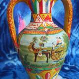Vas ceramica pictata din Sicilia