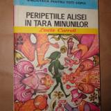 Peripetiile Alisei in Tara minunilor(ilustratii:Angi Petrescu Tiparescu)-Lewis Carroll - Carte de povesti