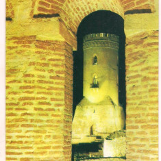 #carte postala(ilustrata)-TARGOVISTE-Turnul Chindia