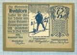 1848 BANCNOTA NOTGELD - AUSTRIA - 75 HELLER - anul 1920 -SERIA FARA -starea care se vede