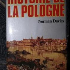 Norman Davies HISTOIRE DE LA POLOGNE Ed. Fayard 1986 - Carte Istorie