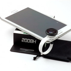 Cadou ideal, lentila fisheye 180 grade pentru telefon