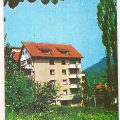 #carte postala(ilustrata)-OLANESTI-Vila Plopul - Carte Postala Oltenia dupa 1918, Circulata, Printata