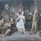 Dansand - Franz von Persoglia (Litografie)