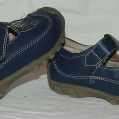 Sandale copii VINCENT - nr 24, Baieti, Bleumarin, Piele naturala