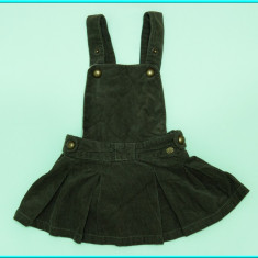 DE FIRMA → Sarafan / fusta din catifea, ZARA → fetite | 12—18 luni | 74—82 cm, Khaki