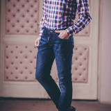 Camasa gen Armani Jeans - Camasa barbati Armani Jeans, Marime: M, L, Maneca lunga, Multicolor