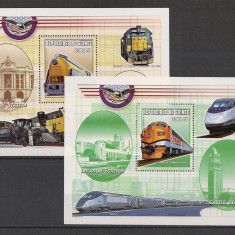 Guineea.2000 Locomotive-Bl. SG.160 - Timbre straine