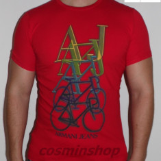 Tricouri ARMANI Jeans - Albastru / Alb / Rosu / Gri - Noua Colectie !!!
