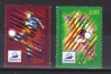 FRANTA 1998, Campionatul Mondial de fotbal, serie completa neuzată, MNH