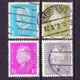 Timbre GERMANIA REICH 1930 - 32 = PRESEDINTII REICHULUI STAMPILATE