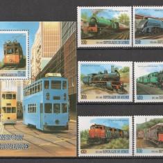Guineea.1999 Locomotive SG.159 - Timbre straine