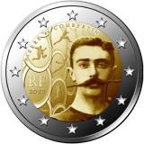 2 euro comemorativa FRANTA 2013 P.Coubertin, UNC