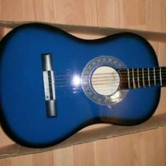 Chitara clasica Copii incepatori culoare albastra
