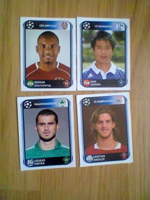 PANINI - Champions League 2010-2011 (lot 4 stikere)