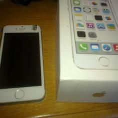 Replica IPHONE 5S 16 GB - 600 ron Apple, Argintiu, Neblocat, Dual core, 1 GB