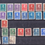 ROMANIA MIHAI UZUALE 1940 - 1947 LOT MIXT - Timbre Romania