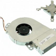 Cooler ventilator cu radiator laptop Toshiba Satellite Pro 6100, MCF-101PBM05A, GDM610000020, GDM610000053, 5V 250mA