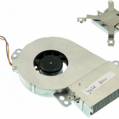 Cooler ventilator cu radiator laptop Toshiba Tecra TE2100, MCF-101PBM05A, GDM610000020, GDM610000053, 5V 250mA