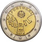 PORTUGALIA 2 euro 2014, UNC