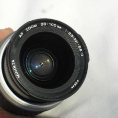 OBIECTIV AF MINOLTA/SONY 28-100mm, IMPECABIL - Obiectiv DSLR Sony, Minolta - Md
