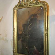 Oglinda veche , secolul XIX , rama antica