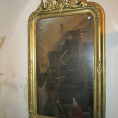 Oglinda veche, secolul XIX, rama antica