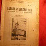 Gh, Ghibanescu - Biserica Sf.Dimitrie (Bals) - Iasi 1934 - Carti Istoria bisericii