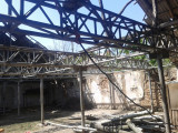 Structura Hala Metalica, 800 mp,  20m X 40m, 12 ferme de 20 m lungime, pe stalpi metalici de grosime fi 110, cu inaltimea de 2,5 m.