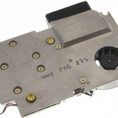 Cooler ventilator cu radiator laptop Sony Vaio PCG-873M, MCF-1314M05, DC 5V 0.36A
