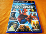 Joc Marvel ultimate Alliance, PS2, original, ate sute de jocuri!, Actiune, 12+, Single player, Activision