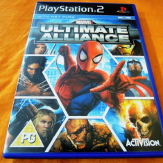 Joc Marvel ultimate Alliance, PS2, original, ate sute de jocuri! - Jocuri PS2 Activision, Actiune, 12+, Single player