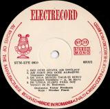 Nicolae Florei_Orchestra Victor Predescu - Romanţe - STM-EPE 0910 (Vinyl)