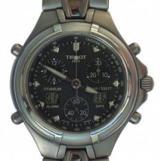 Tissot Cronograf Titanium multifunction, antiacvatic