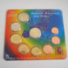 MSS - SET MONEDE EURO - SPANIA - ANUL 2005