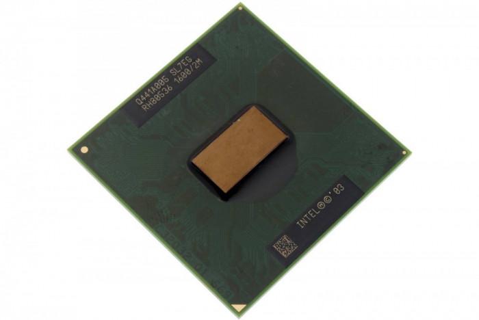 Procesor laptop CPU Intel SL7EG, Intel Pentium M 725, 1.6 GHz, socket PPGA478, bus 400MHz, L2 cache 2 MB