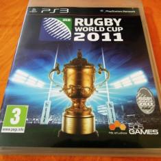 Joc Rugby World Cup 2011, PS3, original, alte sute de jocuri! - Jocuri PS3 Altele, Sporturi, 3+, Multiplayer