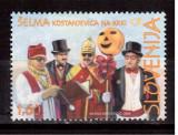 SLOVENIA 2009, Costume traditionale de carnaval, serie neuzata, MNH