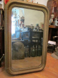 Cumpara ieftin Oglinda veche , secolul XIX , colturi rotunjite , antica