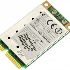 Placa de retea wireless laptop Toshiba Satellite A205, Atheros AR5BXB63, G86C00032410, V000090730, PA3613U-1MPC, WLL3141-D4, K000052570